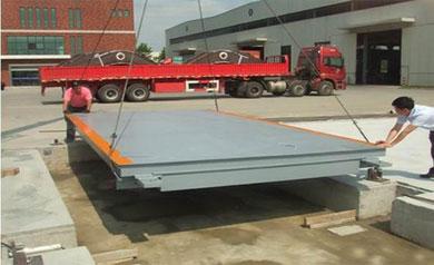 佛山某公司工程|200吨地磅|200T地磅|200吨电子地磅|200吨汽车衡技术参数功能特点