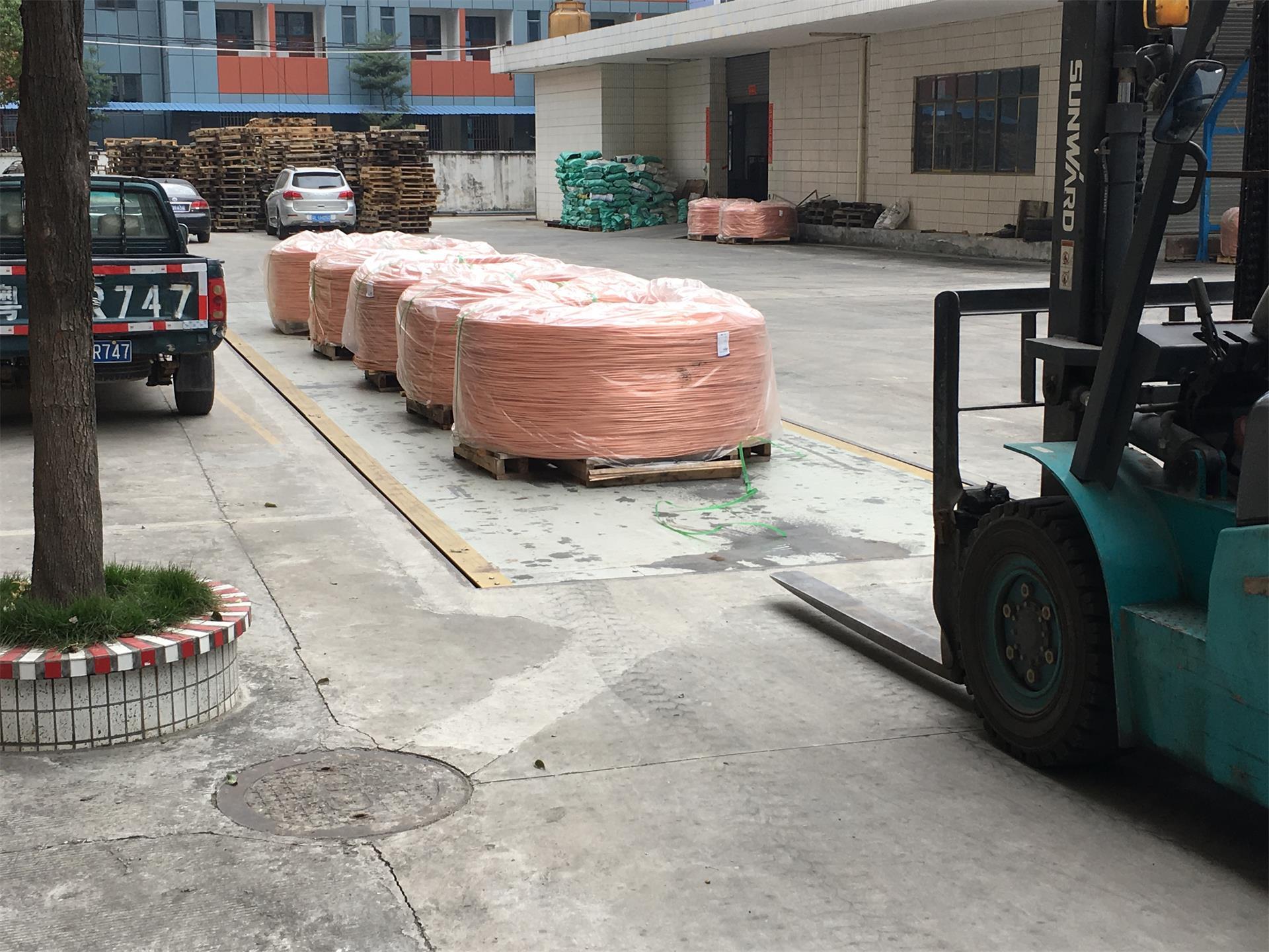 案例三|惠州地磅厂家|东莞汽车衡